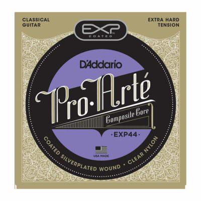 מיתרים לגיטרה קלאסית דדריו - Daddario EXP44 Coated Extra Hard Tention