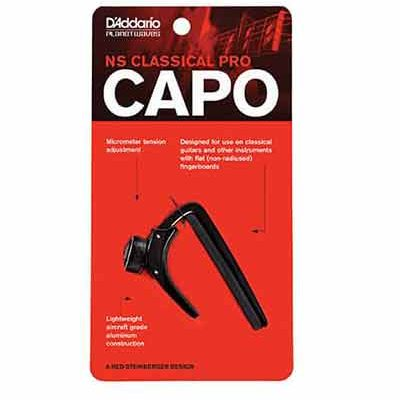 קאפו לגיטרה קלאסית דדריו - Daddario PW-CP-04 Planet Waves NS Classical Pro Capo
