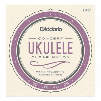 מיתרים ליוקללה דדריו - Daddario EJ65C Pro-Arté Custom Extruded Ukulele Concert