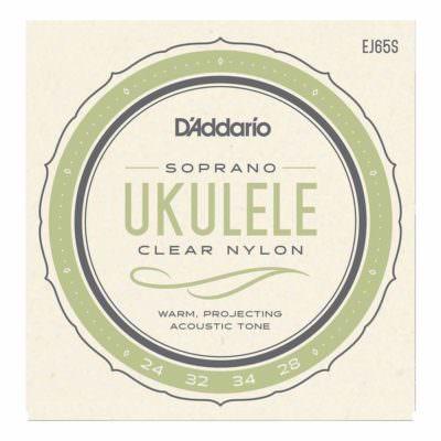 מיתרים ליוקללה דדריו - Daddario EJ65S Pro-Arté Custom Extruded Ukulele Soprano