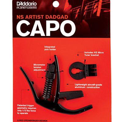 קאפו DADGAD לגיטרה חשמלית/אקוסטית - Daddario Planet Waves PW-CP-14 DADGAD Capo