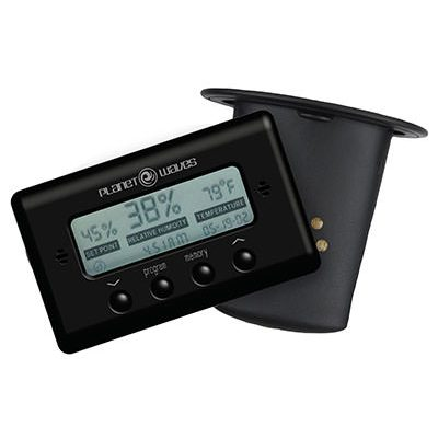 מלחית לגיטרה + מד לחות וטמפרטורה דדריו - Daddario Planet Waves PW-GH-HTS Humidity & Temprature Sensor