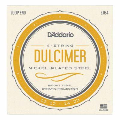 מיתרים לדולצימר דדריו - Daddario EJ64 4-String Dulcimer Strings