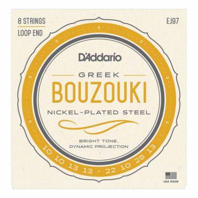 מיתרים לבוזוקי דדריו – Daddario EJ97 Greek Bouzouki