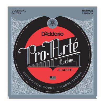 מיתרים לגיטרה קלאסית דדריו - Daddario EJ45FF Pro-Arte' Carbon Normal Tension
