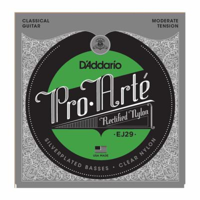 סט מיתרים לגיטרה קלאסית דדריו - Daddario EJ29 Pro-Arté Rectified Moderate Tension