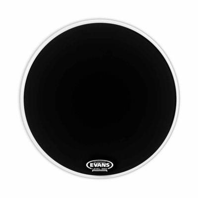 """עור חיצוני לתוף בס אוונס - """"Evans BD20RA EQ1 Dry Resonant Smooth Black 20"""