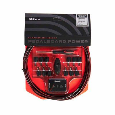 ערכת חיווט חשמל DIY 6m לפדאלבורד דדריו - Daddario Planet Waves PW-PWRKIT-20 Power Kit - 20