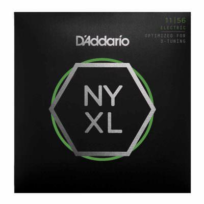 מיתרים לגיטרה חשמלית דדריו - 11-56 - Daddario NYXL1156 Nickel Wound