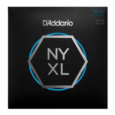 מיתרים לגיטרה חשמלית דדריו - 12-52 - Daddario NYXL1252W Nickel Wound