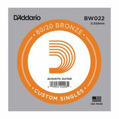 מיתר בודד לגיטרה חשמלית דדריו - Daddario Single Nickel Wound - 060