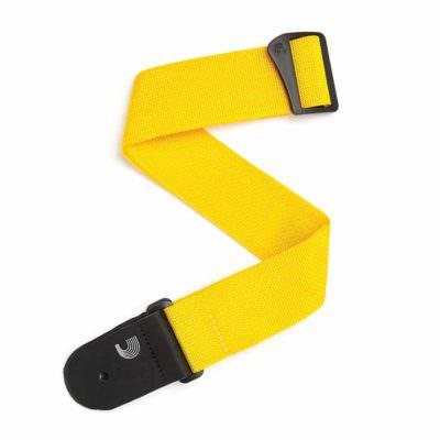 רצועה צהובה לגיטרה דדריו - Daddario PWS110 Planet Waves , Polypropylene Yellow Strap