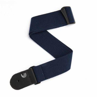 רצועה שחורה מכותנה לגיטרה דדריו - Daddario 50CT00 Planet Waves Strap, Blk Cotton Strap
