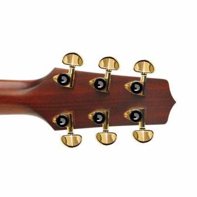 מפתחות כיוון ננעלים - Daddario Planet Waves 3+3 Gold Auto Trim Tuning Machines