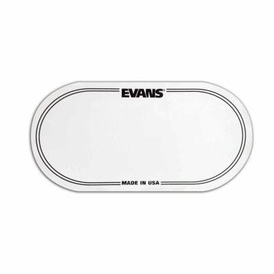 מדבקה לתוף בס אוונס - Evans EQPC2 EQ Bass Drum Patches Clear Plastic double Pedal