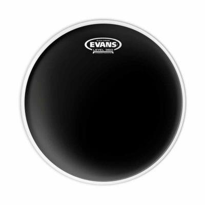 """עור עליון לטם-טם או לסנר אוונס - """"Evans TT20CHR Black Chrome 20"""