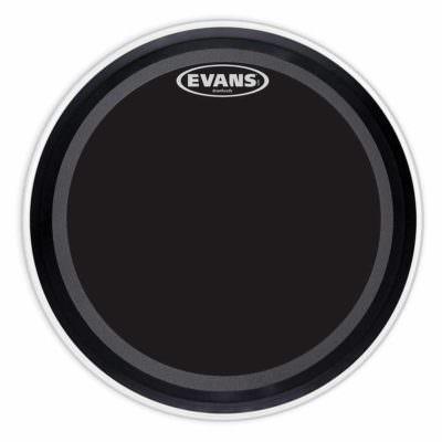 "עור פנימי לתוף בס אוונס - ""Evans BD22EMADONX EMAD Onyx Frosted 22"