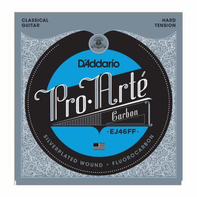 מיתרים לגיטרה קלאסית דדריו - Daddario EJ46FF Pro-Arte' Carbon Hard Tension