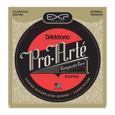 מיתרים לגיטרה קלאסית דדריו - Daddario EXP45 Coated Normal Tention