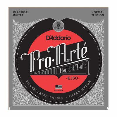 סט מיתרים לגיטרה קלאסית דדריו - Daddario EJ30 Pro-Arté Rectified Normal Tension