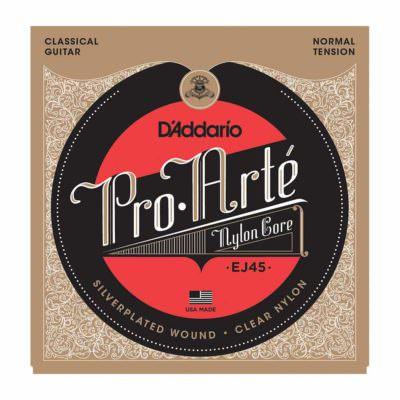 מיתרים לגיטרה קלאסית דדריו - Daddario EJ45 Pro-Arté Nylon Normal Tension