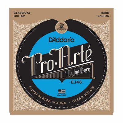 מיתרים לגיטרה קלאסית דדריו - Daddario EJ46 Pro-Arté Nylon Hard Tension
