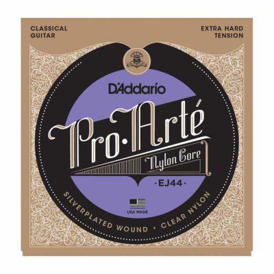 מיתרים לגיטרה קלאסית דדריו - Daddario EJ44 Pro-Arté Nylon Extra Hard Tension