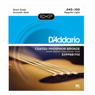 מיתרים לגיטרה בס אקוסטית 5 מיתרים דדריו - Daddario EXPPBB170-5 Acoustic Long Scale - 45-130