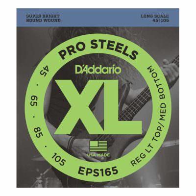 מיתרים לגיטרה בס דדריו - 45-105 - Daddario EPS165 Prosteels Bass Long Scale