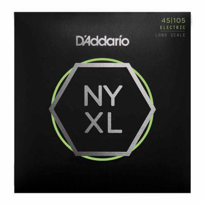 מיתרים לגיטרה בס דדריו - 45-105 - Daddario NYXL45105 Set Long Scale