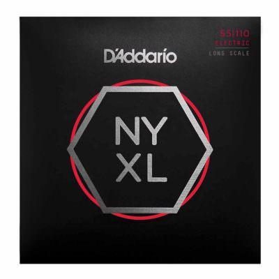 מיתרים לגיטרה בס דדריו - 55-110 - Daddario NYXL55110 Set Long Scale