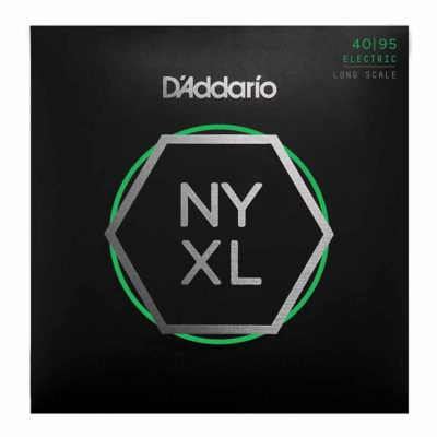 מיתרים לגיטרה בס דדריו - 40-95 - Daddario NYXL4095 Set Long Scale