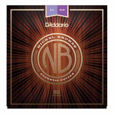 מיתרים לגיטרה אקוסטית דדריו - Daddario Nickel Bronze NB1047 Acoustic Guitar Strings - 10-47