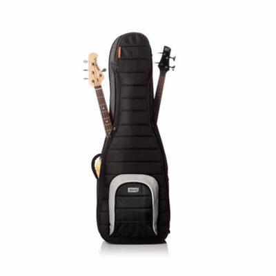 קייס מרופד ל-2 גיטרות בס מונו - MONO M80-2B-BLK Dual Bass Case