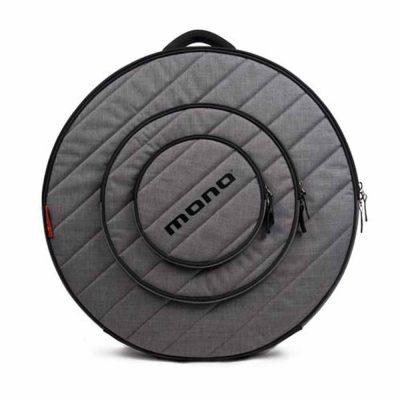 """נרתיק אפור למצילות 24"""" מונו - MONO M80-CY24-ASH Ash 24"""" Cymbal Case"""