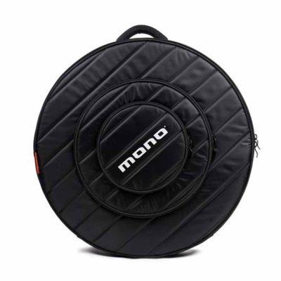 """נרתיק שחור למצילות 24"""" מונו - MONO M80-CY24-BLK Black 24"""" Cymbal Case"""