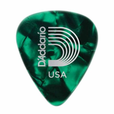 מפרט בודד דדריו – Daddario 1CGP4 Planet Waves Pearl Celluloid 0.70mm Single Pick