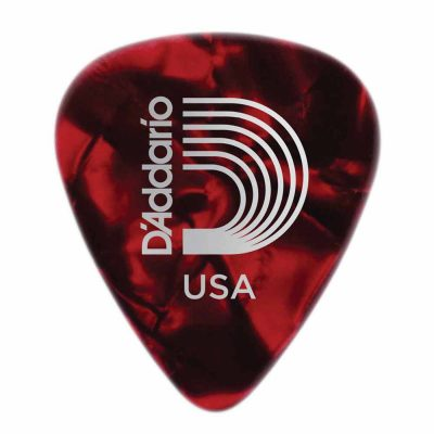 מפרט בודד דדריו – Daddario 1CRP6 Planet Waves Pearl Celluloid 1.00mm Single Pick