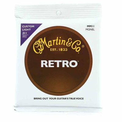מיתרים לגיטרה אקוסטית מרטין - Martin Retro MM11 11-52