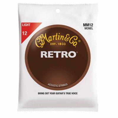 מיתרים לגיטרה אקוסטית מרטין - Martin Retro MM12 12-54